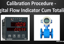 Calibration Procedure of Digital Flow Indicator Come Totalizer